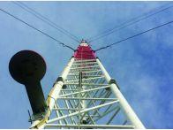 Anemometer tower 120m